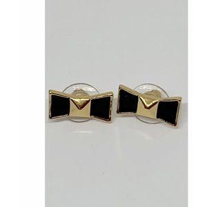 Kate Spade Black Bow Earrings